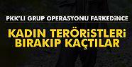 PKK'lı Erkek Teröristler Kadın Teröristleri...