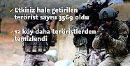 TSK birlikleri Afrin'in kuzeyinde buluştu