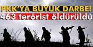 TSK: 'Hakkari'de toplam 463 terörist...