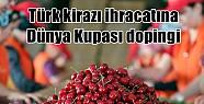 Türk kirazı ihracatına Dünya Kupası...