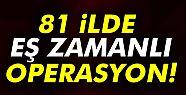 Türkiye genelinde 40 bin polisle 'Huzur'...