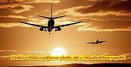 Türkiye'deki uçuşların yüzde 46'sı...