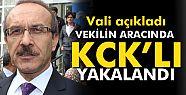 Vali açıkladı: Vekilin aracında KCK'lı...