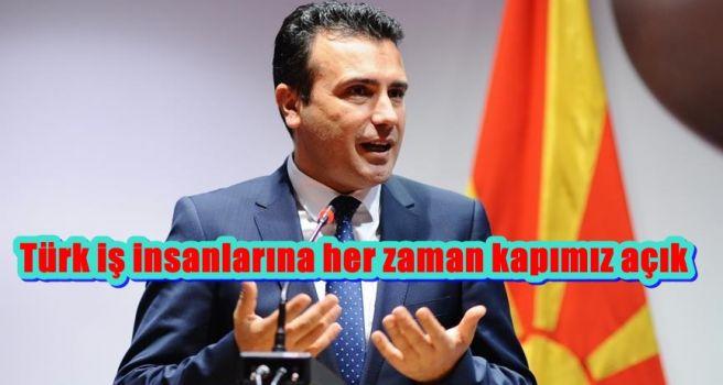 Türk iş insanlarına her zaman kapımız açık