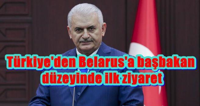 Türkiye'den Belarus'a başbakan düzeyinde ilk ziyaret