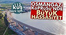 Osmangazi Köprüsü'nde lagün değişikliği
