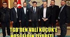 Tarafsız Gazeteciler Derneğinden (TGD) Bursa Valisi Sn İzzettin Küçük'e hoş geldin ziyareti