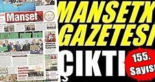 Manşetx Gazetesinin 155. Sayısı Çıktı