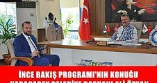İnce Bakış'ın Konuğu Karacabay Belediye Başkanı Ali ÖZKAN