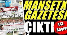 Manşetx Gazetesinin 147. Sayısı Çıktı