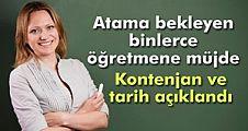 Atama bekleyen milyonlarca öğretmene müjde