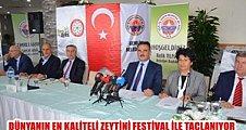 2. Gemlik Zeytin Festivali Başlıyor