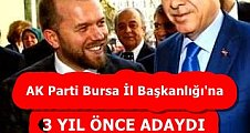 3 YIL ÖNCEDE ADAYDI  ŞİMDİ DE ADAY!