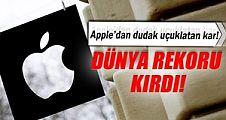 Apple dünya rekoru kırdı!