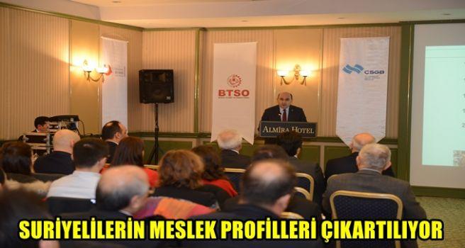 Yabancı ve Suriyeli İstihdamı İstişare Toplantısı Bursa'da Yapıldı