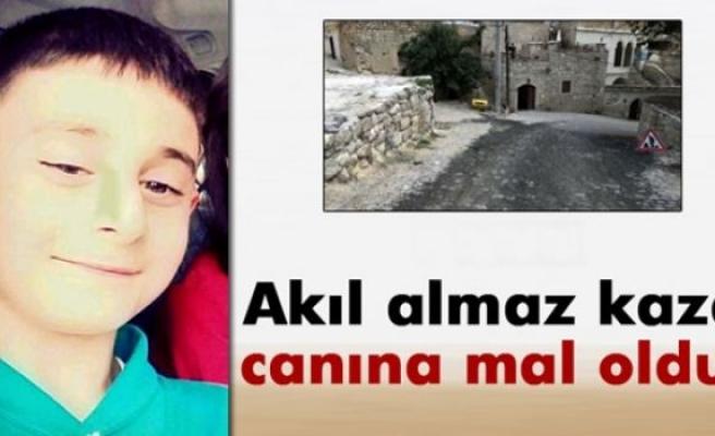 10 yaşındaki Mustafa'nın feci ölümü