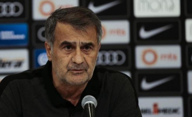 Beşiktaş'ın teknik direktörü Güneş: Biz de kendi futbolumuzu oynayıp kazanmak istiyoruz