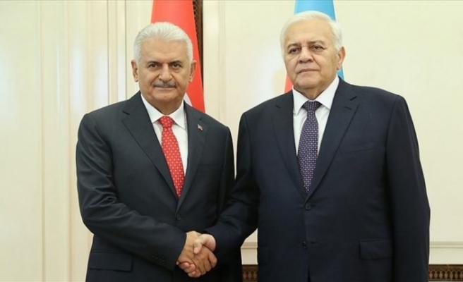 TBMM Başkanı Yıldırım: Türkiye ve Azerbaycan aynı kaderi paylaşıyor