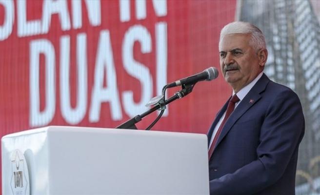 TBMM Başkanı Yıldırım: Türkiye'yi tehdit etmeye kalkanlar cevabı misliyle alır