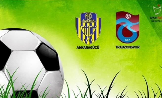 Trabzonspor ile MKE Ankaragücü 69. randevuda