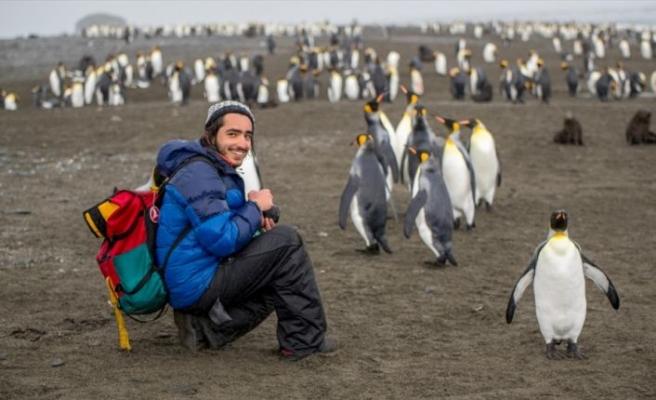 Yedi kıtaya ayak basan en genç Türk, sosyal medyada ilgi çekiyor