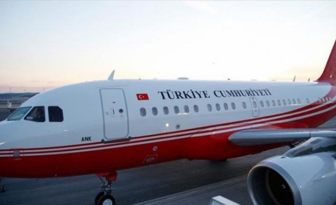 Cumhurbaşkanı Erdoğan, Kırgızistan'a gitti
