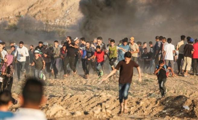 İsrail askerleri Gazze sınırında biri çocuk 3 Filistinliyi şehit etti