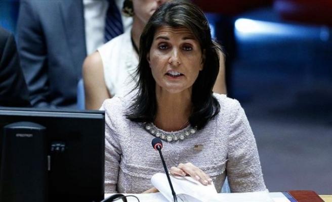 ABD'nin BM Daimi Temsilcisi Nikki Haley'nin istifa ettiği iddiası
