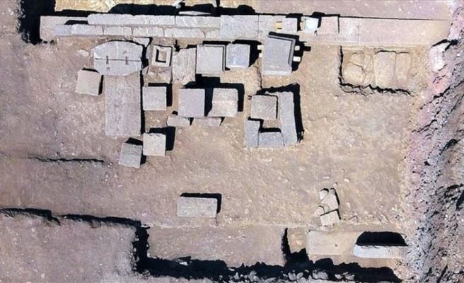 'Aristios ailesi'nin 2300 yıllık mezarı bulundu