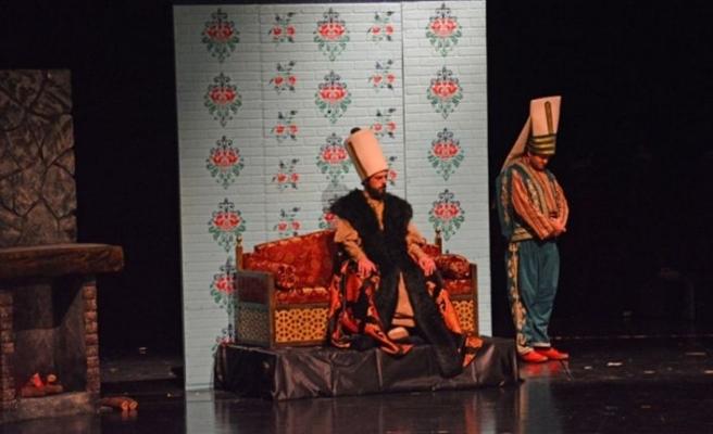'Baltacı Mehmet ve Katerina Müzikali' Bursa'da sahnelendi