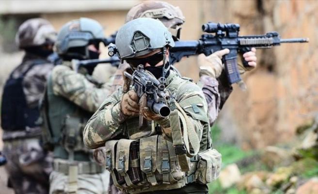 Bir haftada 25 terörist etkisiz hale getirildi