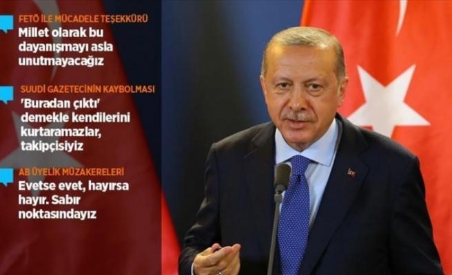 Cumhurbaşkanı Erdoğan: Başkonsolosluk yetkilileri 'buradan çıktı' demekle kendini kurtaramaz
