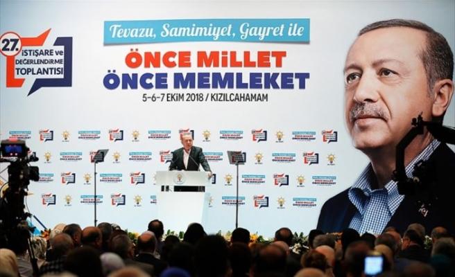 Erdoğan'dan 'McKinsey' açıklaması