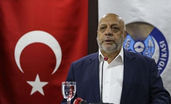 Hak-İş Genel Başkanı Arslan: Kriz gerekçesiyle işçi çıkartılmasına şiddetle karşıyız