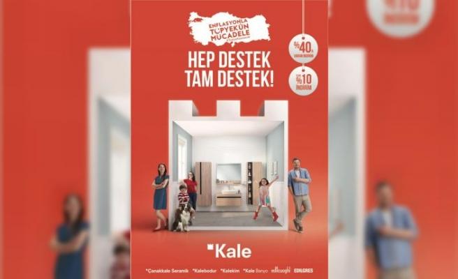 Kale'den Enflasyonla Topyekun Mücadele Programı'na destek