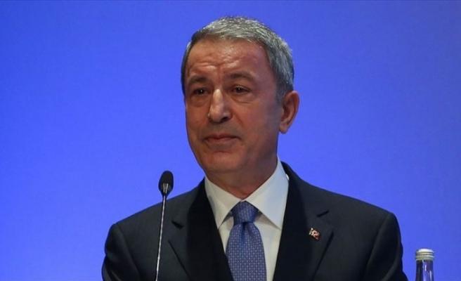 Milli Savunma Bakanı Akar: Münbiç'te ABD ile ortak eğitimler başladı