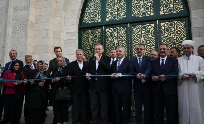 Orgeneral Hulusi Akar Cami ve Külliyesi açılışı yapıldı