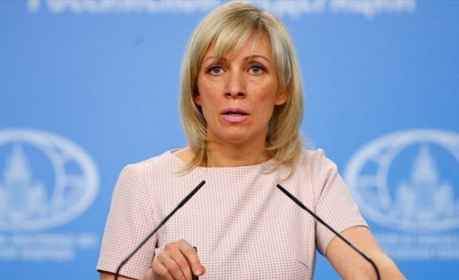 Rusya Dışişleri Sözcüsü Zaharova: Rusya Fırat'ın doğusundaki gelişmelerden endişeli