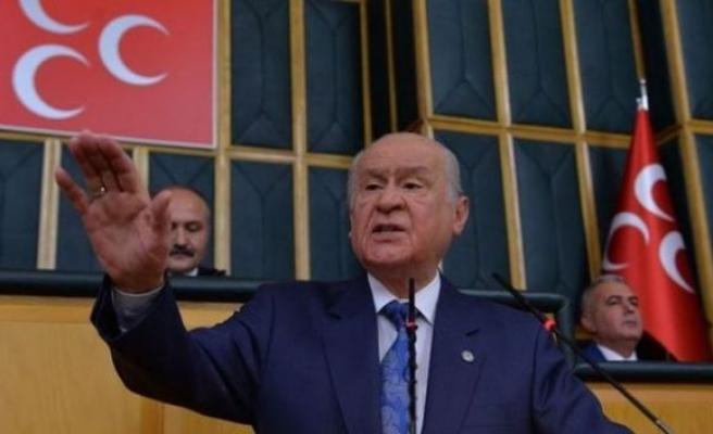 MHP Genel Başkanı Bahçeli: İttifak niyetimiz artık kalmamıştır