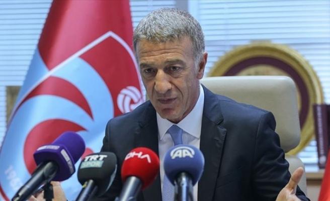 Trabzonspor Kulübü Başkanı Ağaoğlu: Zirve yarışı içinde olacağız