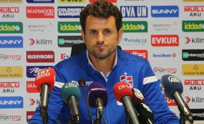 Trabzonspor Yardımcı Antrenörü Çimşir: Bu galibiyeti Ünal hocamıza armağan ediyoruz'