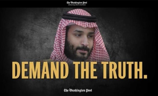 Washington Post'tan 'Kaşıkçı' kampanyası