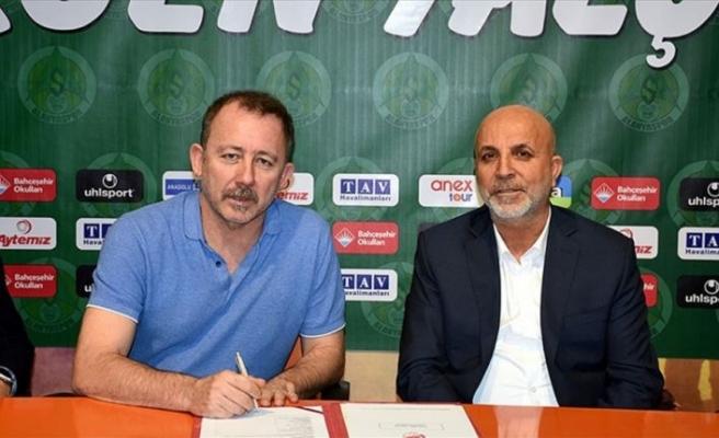 Alanyaspor Sergen Yalçın'la sözleşme imzaladı