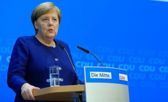 Almanya Başbakanı Merkel: Federal hükümeti sürdürme yönünde ortak kanaatimiz var