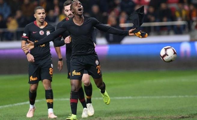 Galatasaray zirve takibini sürdürüyor
