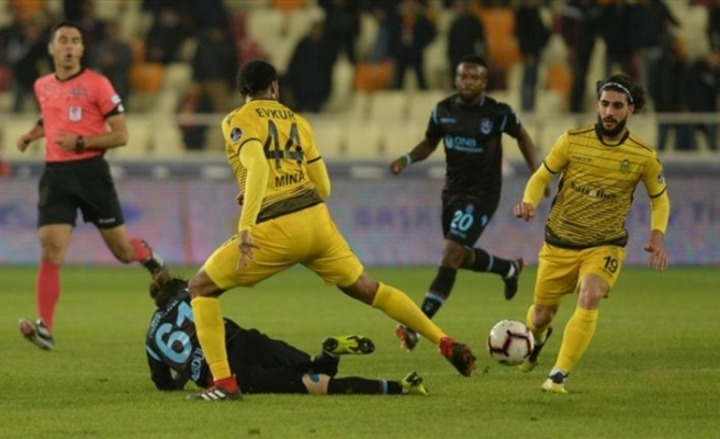 Trabzonspor Malatya'da kaybetti