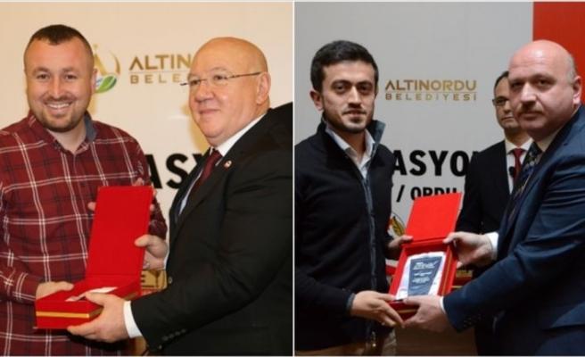 'Yılın Medya' ödül töreninde AA'ya 2 ödül