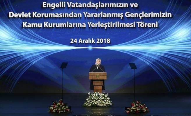 Aile, Çalışma ve Sosyal Hizmetler Bakanı Selçuk: Kamuya yerleştirmeleri yılda üç kez yapacağız