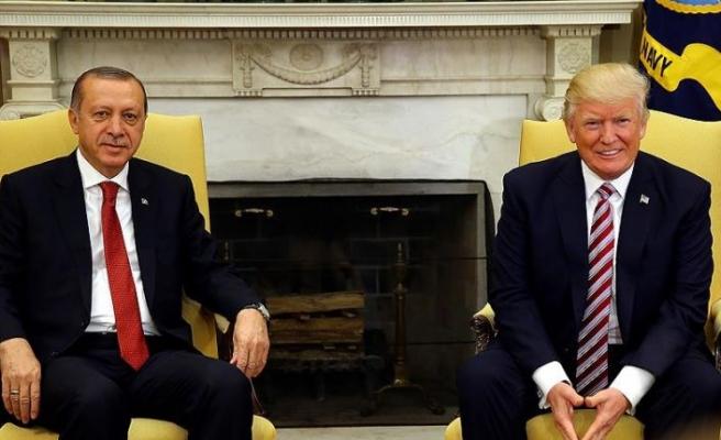 Erdoğan ile Trump 'Suriye'de ortak girişimi' görüştü