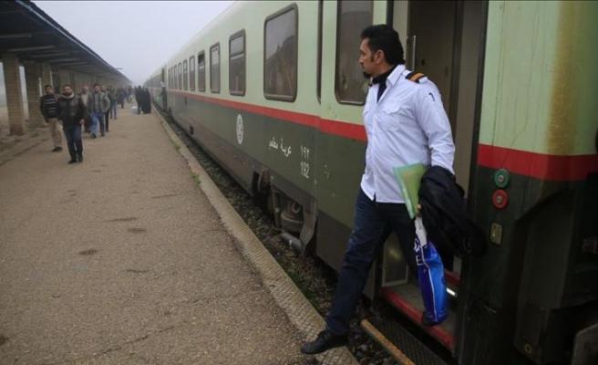 Felluce'de 4 yıl sonra tren düdüğü yeniden duyuldu